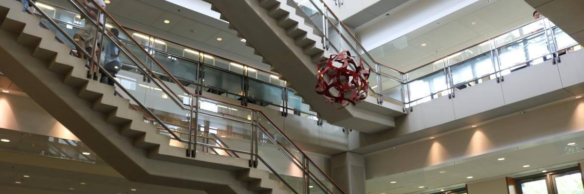 Atrium in Duke building